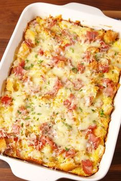 Ham & Cheese Brunch Bake  - Delish.com