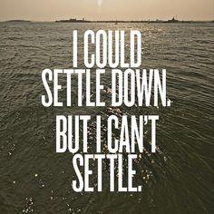 I could...