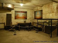 The bunker has been immaculately preserved by Berliner Unterwelten. A group of more than 350 history enthusiasts from all walks of life. They research and document Berlin's historical underground sites.