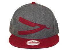 Applique Snapback Hats by FRANK'S CHOP SHOP x NEW ERA
