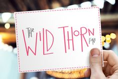 Wild Thorn Font by S