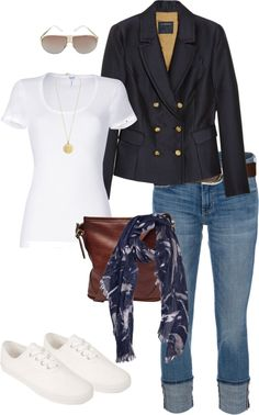 """Jen Aniston"" by tamimaffitt ❤ liked on Polyvore"