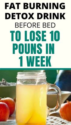 Detox and Fat Burning Drink Before Bed – To Lose 10 Pounds In 1 Week. drink consists of lemons, apple cider vinegar cinnamon, and honey, all of which when combined and c Detox Drink Before Bed, Drinks Before Bed, Weight Loss Drinks, Weight Loss Smoothies, Weight Loss Meal Plan, Weight Lifting Plan, Weight Lifting Workouts, Best Weight Loss Foods, Weight Loss Detox