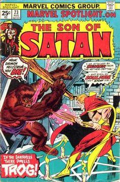 Marvel Spotlight Covers
