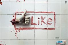 Like me on Facebook or I will eat you.