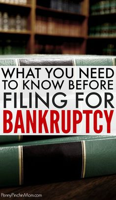 Everything you need to know before you file for bankruptcy. It is often not the right answer and can leave you in a worse financial situation than when you began. Read all you need to know about filing for bankruptcy bankruptcy tips Miles Credit Card, Paying Off Credit Cards, Rewards Credit Cards, Credit Dispute, Rebuilding Credit, Credit Repair Companies, Improve Your Credit Score, Financial Tips, Financial Planning