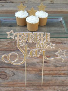 Twinkle Twinkle Little Star Cake Topper. by ChumblebeeChumblebee