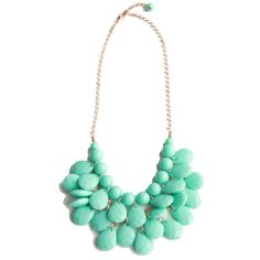 Minty Drop Necklace