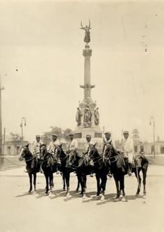Plaza Dos de Mayo  Fuente: Lima Antigua