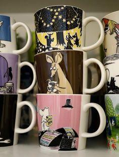 Kirppisrakkautta Moomin Mugs, Marimekko, Decorating, Cool Stuff, Tableware, Decor, Decoration, Dinnerware, Tablewares