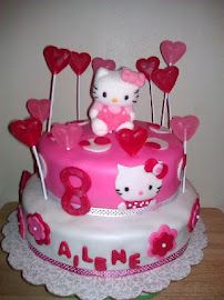 2 tier hello kitty