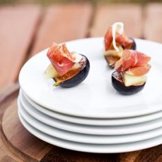 Caramelized Fig with Manchego and Jamon Serrano
