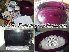 Como fazer arroz branco soltinho no Microondas!!