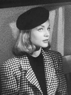 Lauren Bacall (as Vivian Rutledge, naturally)