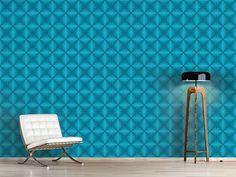 Design #Tapete Papierstern Karo