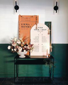 Modern & Hip Fall Wedding Colors | A Practical Wedding