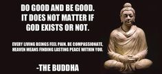 Simply be good..