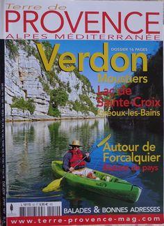 Magazine-Terre-de-Provence-Alpes-Mediterrannee-Verdon-lac-Sainte-Croix-Balades-et-bonnes-adresses