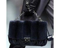 Christian dior fur bags