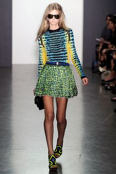 Proenza Schouler Spring 2010 Ready-to-Wear Fashion Show - Mathilde Frachon
