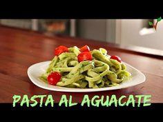 Pasta con Salsa de Aguacate! - Recetas Veganas - YouTube