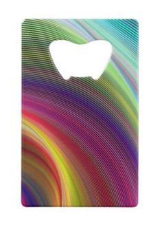 Vortex of colors wallet bottle opener $13.20