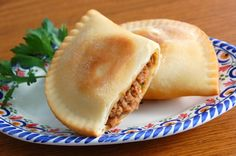 Gluten-Free Beef Empanadas with Onions and Peppers by @bobsredmill