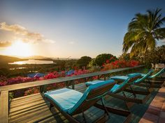 Simply the best way to experience Saint Croix is retreating to this view every evening!