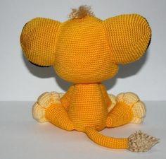 Lion Kion crochet pattern PDF Lion Simba from by Ambercraftstore Crochet Lion, Kawaii Crochet, Crochet Disney, Crochet Mouse, Crochet Amigurumi, Knit Or Crochet, Cute Crochet, Crochet Animals, Crochet Dolls