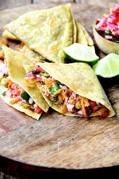 sweet potato tacos or quesadillas