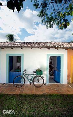 Beach house in Brazil