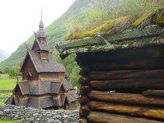 Borgund stave church; Lærdal, Sogn og Fjordane