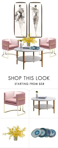 """Pink"" by kohlanndesigns ❤ liked on Polyvore featuring interior, interiors, interior design, home, home decor and interior decorating"