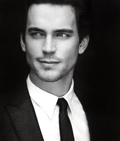 Matt Bomer. Cause he's so damn good looking...