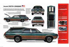 1972 Oldsmobile Vista Cruiser 442 Station Wagon W30 Imp Brochure w 30   eBay
