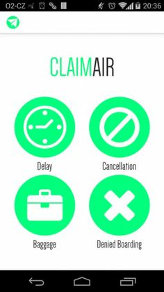 ClaimAir - Free mobile app that helps air passengers to master their rights and collect flight compensations easily on the go