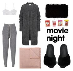"""""""Bring the Popcorn: Movie Night"""" by eva-jez ❤ liked on Polyvore featuring Stefanel, Alice McCall, Acne Studios, Valentino, Givenchy, Donna Karan, Forever 21 and movieNight"""
