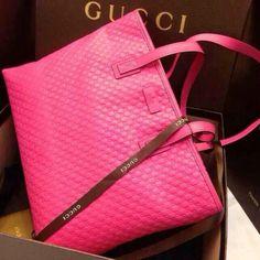 Pink Gucci Bag   Chic & Chambray