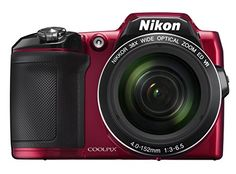 Nikon COOLPIX L840 Digital Camera with 38x Optical Zoom and Built-In Wi-Fi (Red) Nikon http://smile.amazon.com/dp/B00T85P7D8/ref=cm_sw_r_pi_dp_86zvwb1EHHB1H