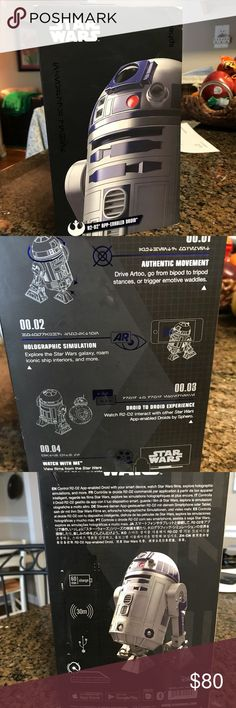 Star Wars R2D2 app enabled Droid, New in box Never opened , sells at Walmart for $120, bought and too old for my son Star Wars Other