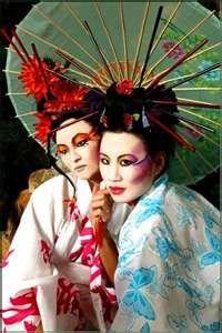 .Geisha inspiration