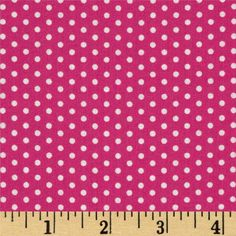 Spot On Pindot Hot Pink from Designed by Studio RK for Robert Kaufman Fabrics, this fabric is perfect for quilting, apparel and home décor accents. Colors include hot pink and white. Minnie Birthday, Robert Kaufman, Spots, Accent Decor, Hot Pink, Sewing Projects, Etsy, Fancy, Crafty
