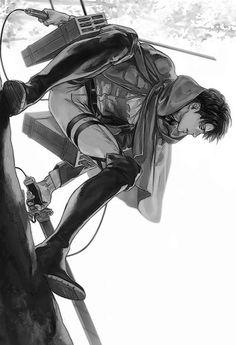 Levi Ackerman l Attack on Titan l Shingeki no Kyojin Armin, Mikasa, Levi X Eren, Ereri, Levihan, M Anime, Fanarts Anime, Anime Boys, Anime Art