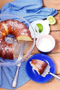 Coconut Bundt Cake with Pineapple Glaze Dessert Recipe