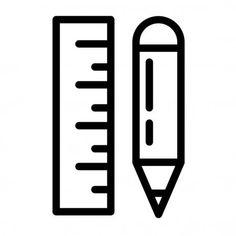 Ruler Draw Simple Illustration - Stock Vector , #Ad, #Simple, #Draw, #Ruler, #Vector #AD Handwritten Script Font, Simple Illustration, Ruler, Draw, To Draw, Sketches, Painting, Tekenen, Drawing