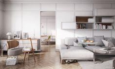 Apartment in Berlin by Silva Trovato Samue