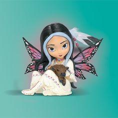 Jasmine Becket-Griffith Spirit Maidens Greenmeadow Spirit of Abundance