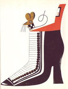 Kveta Pacovska (Czech), 1973, illus. for Pohadky Pro Vsedni Dny I Pro Svatky