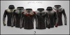 Justice League EVO by seventhirtytwo I want one so BADLY! And some of the shirts!