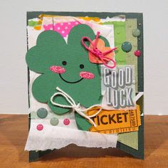 A2 Card Bases 3 Cutting Files and Shamrock Faces Cutting Files